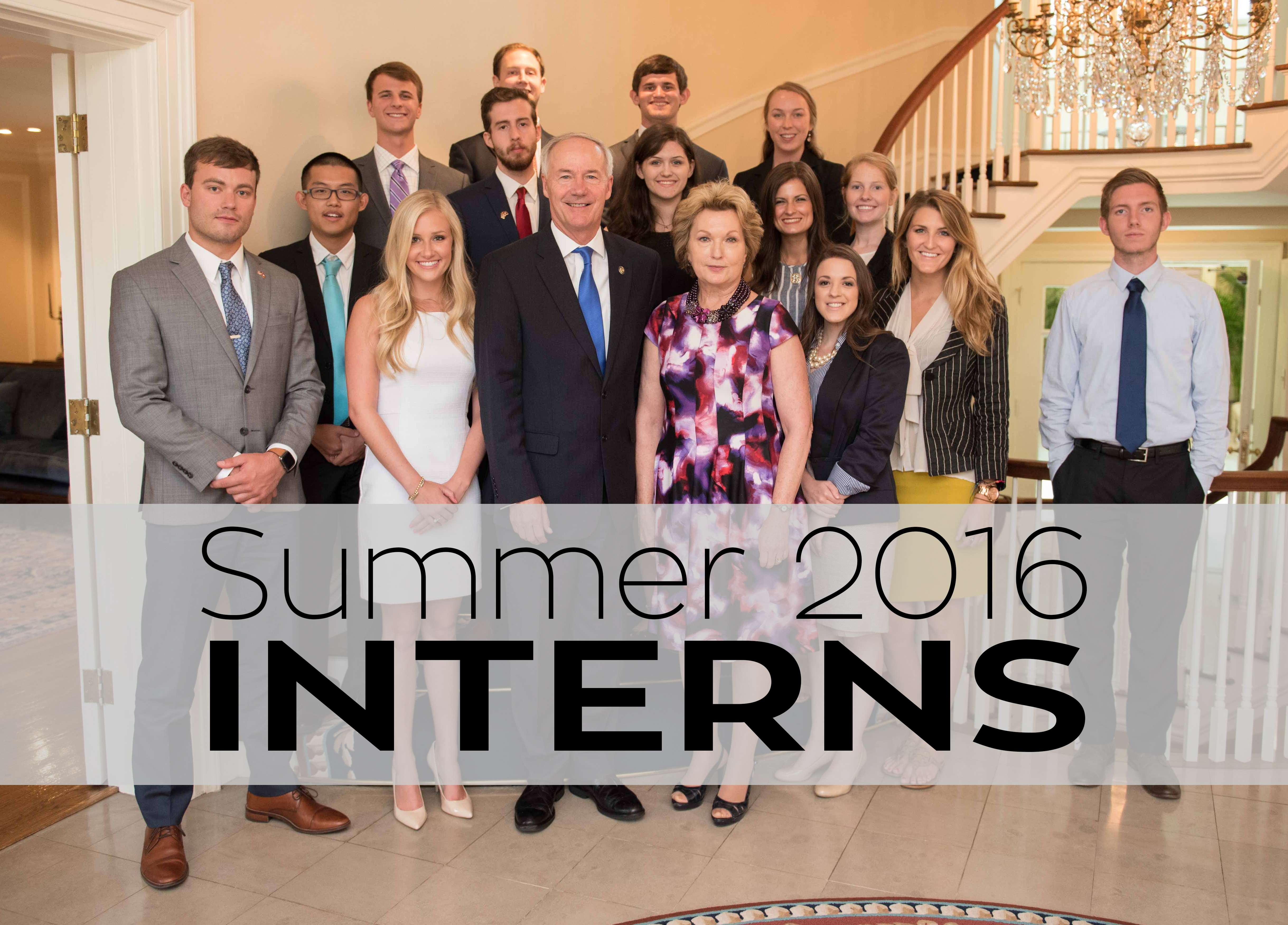 Summer 2016 Interns