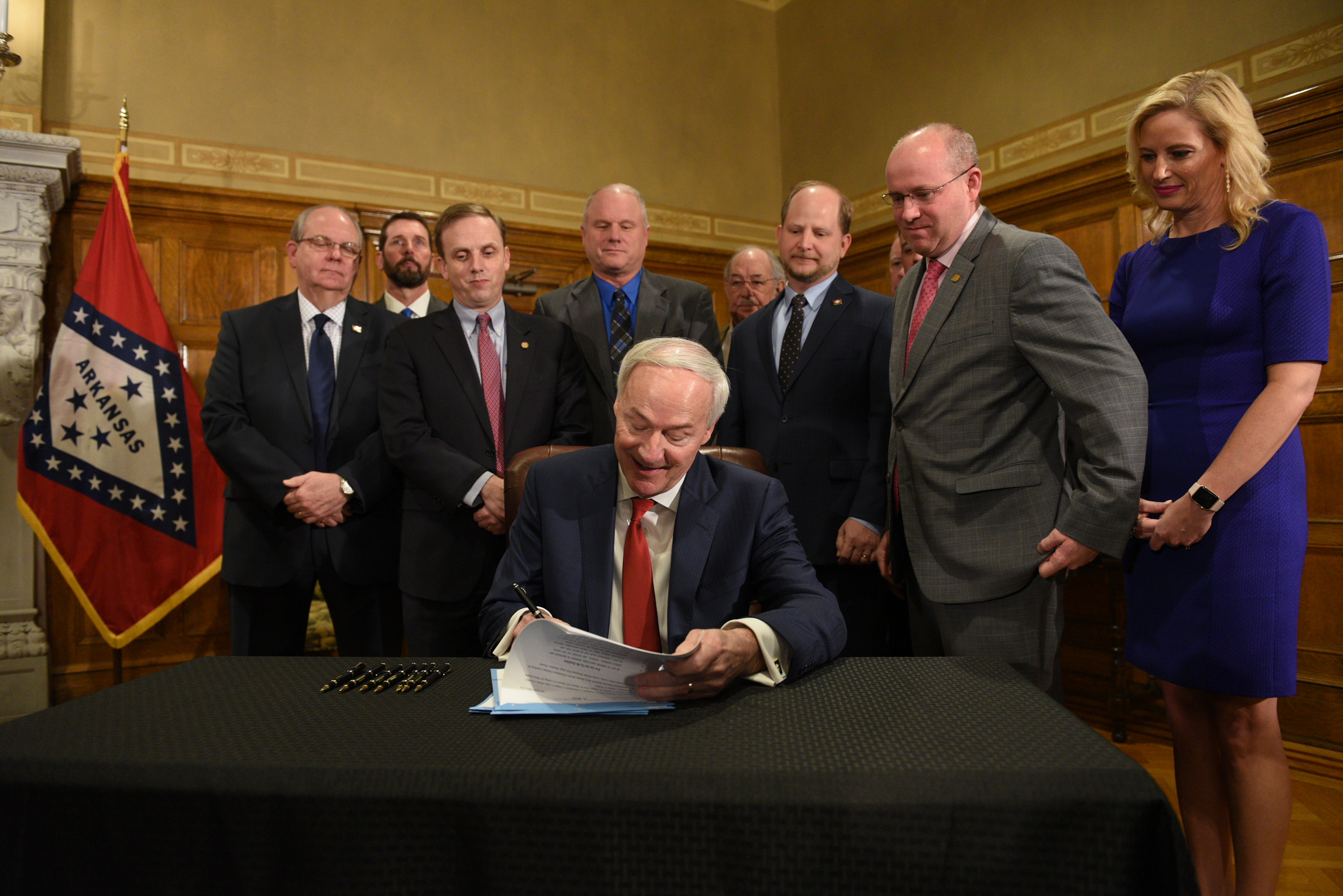 Governor Asa Hutchinson Signs Bill